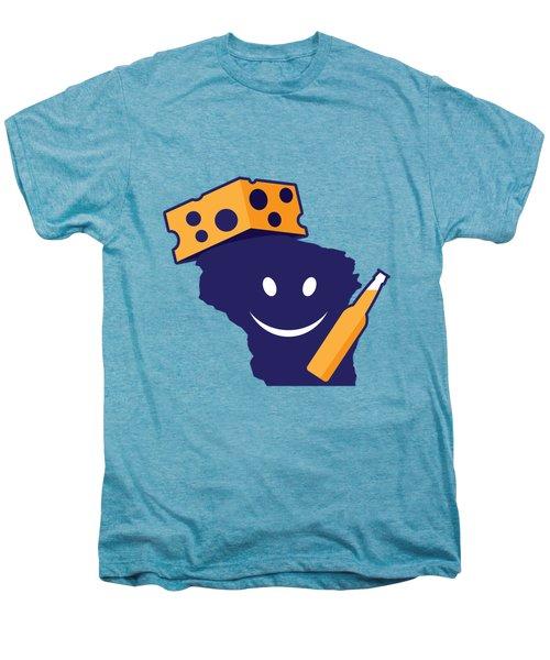 Another Wisconsin Tailgator Men's Premium T-Shirt by Geoff Strehlow