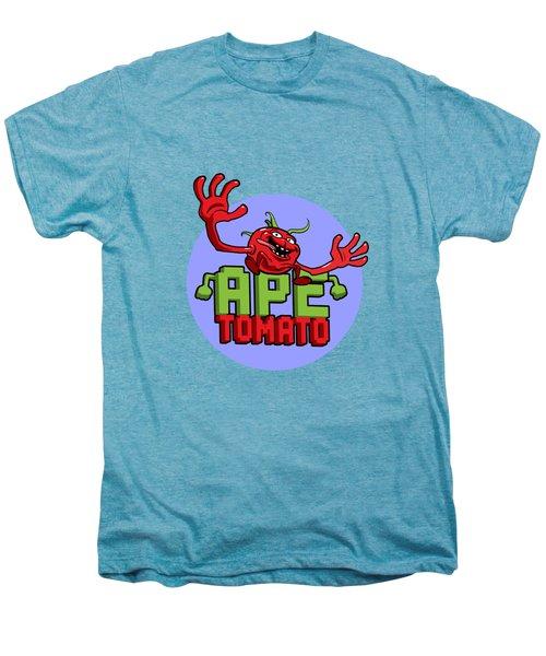 Ape Tomato Blue Purple Men's Premium T-Shirt by Nicolas Palmer