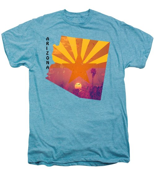 Arizona Men's Premium T-Shirt by Beverly Guilliams