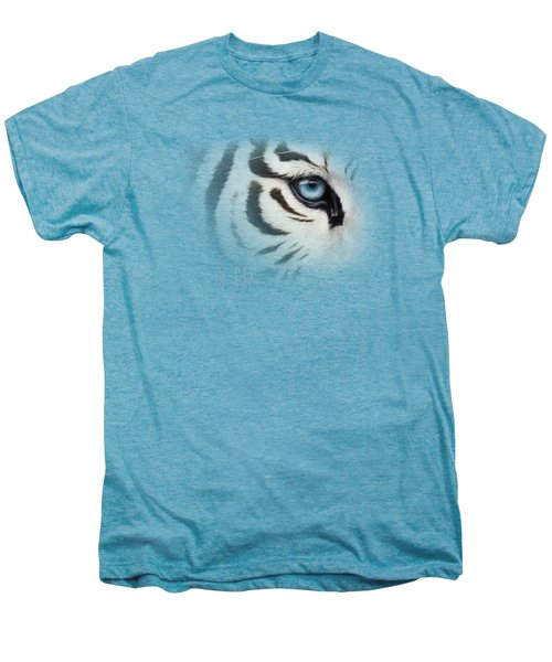 Blue Eye Men's Premium T-Shirt by Lucie Bilodeau