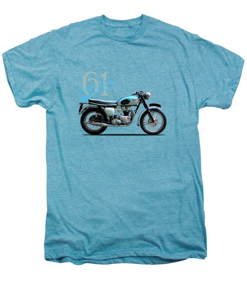 Triumph Bonneville Men's Premium T-Shirt by Mark Rogan