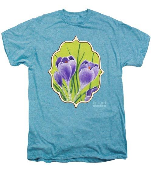 Crocus Men's Premium T-Shirt by Anastasiya Malakhova