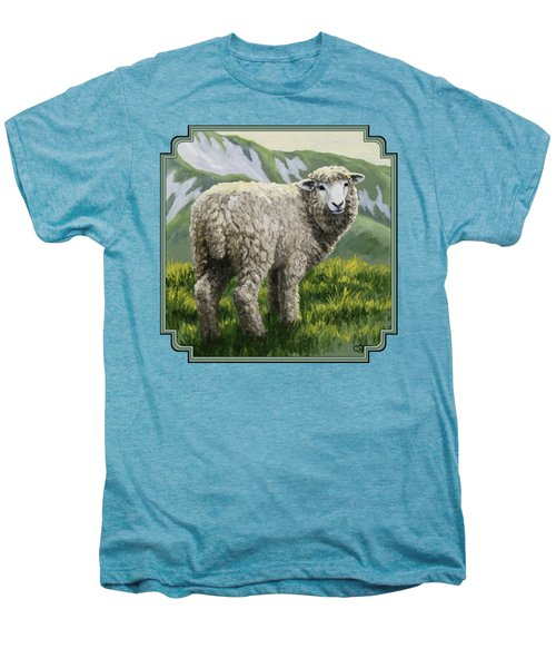 Highland Ewe Men's Premium T-Shirt by Crista Forest