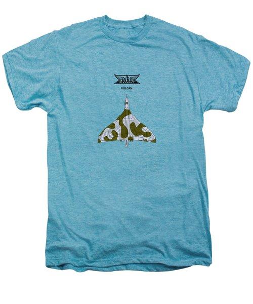 The Vulcan - White Men's Premium T-Shirt by Mark Rogan