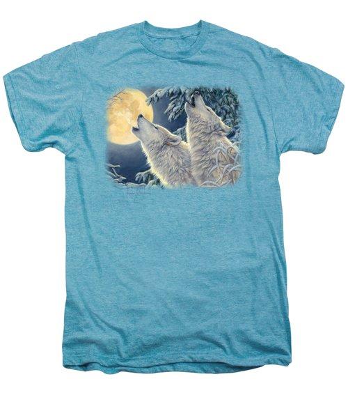 Moonlight Men's Premium T-Shirt by Lucie Bilodeau