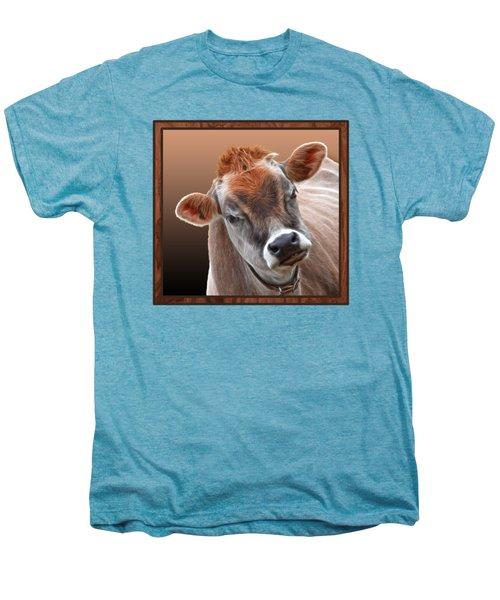 Hello Men's Premium T-Shirt by Gill Billington