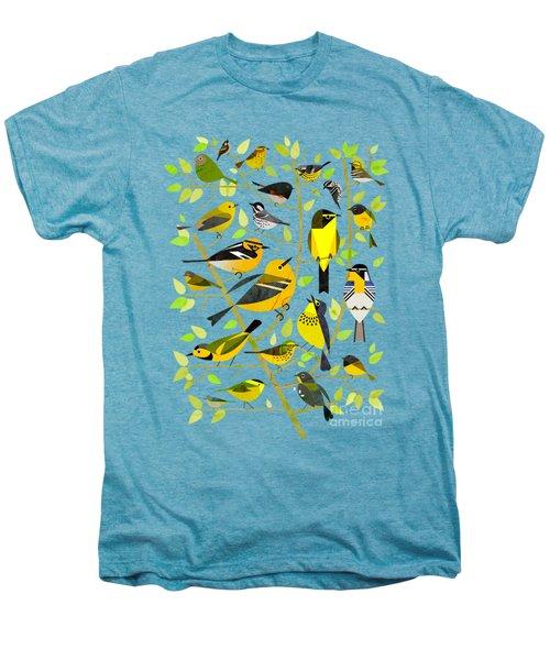 Warblers 1 Men's Premium T-Shirt by Scott Partridge
