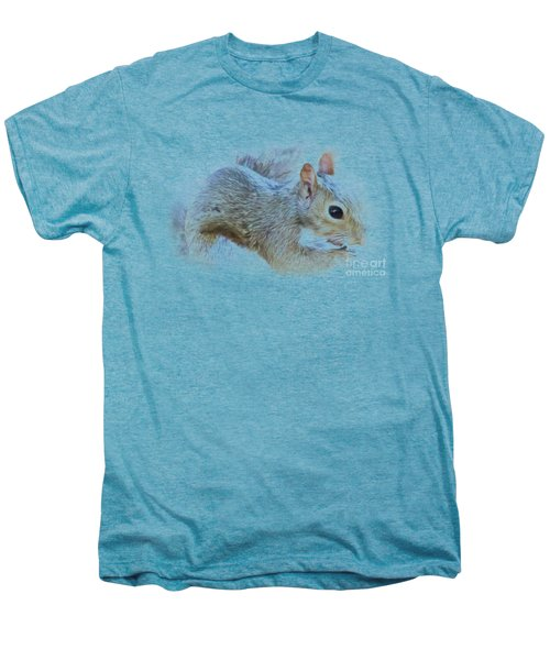 Another Peanut Please - Squirrel - Nature Men's Premium T-Shirt by Barry Jones