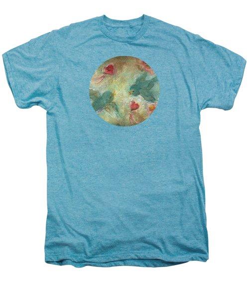 Lovebirds Men's Premium T-Shirt by Mary Wolf