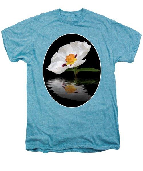 Cistus Reflections Men's Premium T-Shirt by Gill Billington