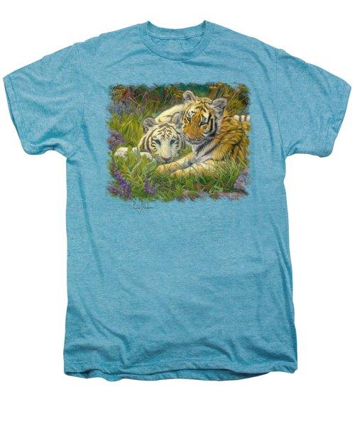 Sisters Men's Premium T-Shirt by Lucie Bilodeau