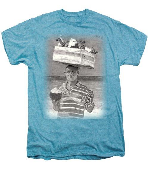 Island Street Vendor Men's Premium T-Shirt by Tom Podsednik