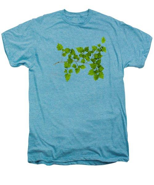 Hawthorn Men's Premium T-Shirt by Christina Rollo
