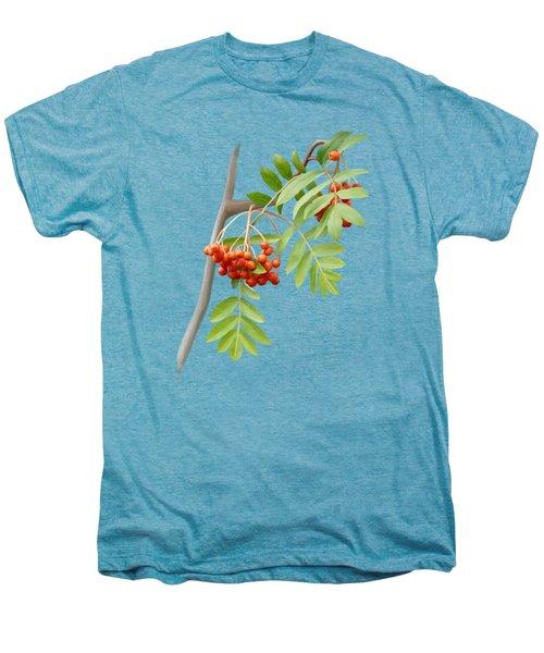 Rowan Tree Men's Premium T-Shirt by Ivana Westin