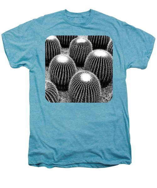 Cacti Men's Premium T-Shirt by Ethna Gillespie