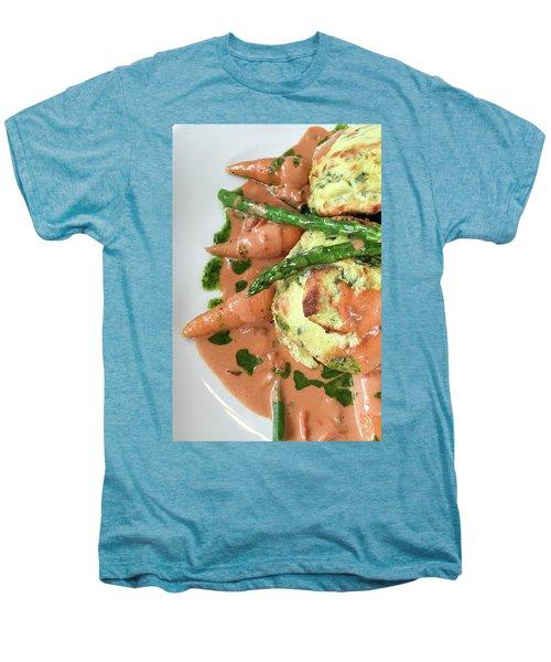 Asparagus Dish Men's Premium T-Shirt by Tom Gowanlock
