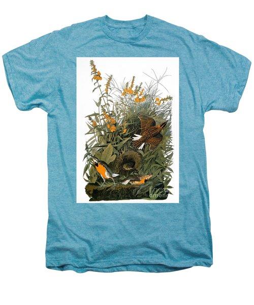 Audubon: Meadowlark Men's Premium T-Shirt by Granger