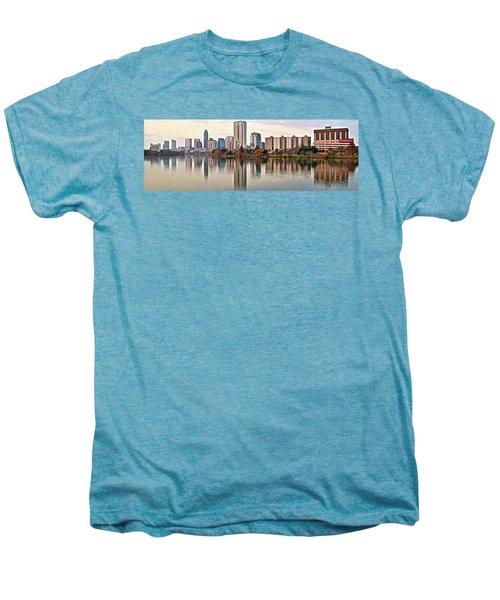 Austin Wide Shot Men's Premium T-Shirt by Frozen in Time Fine Art Photography