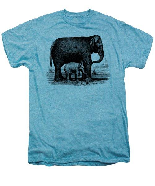 Baby Elephant T-shirt Men's Premium T-Shirt by Edward Fielding
