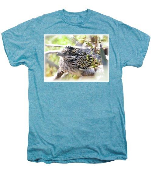 Baby Roadrunner  Men's Premium T-Shirt by Saija Lehtonen