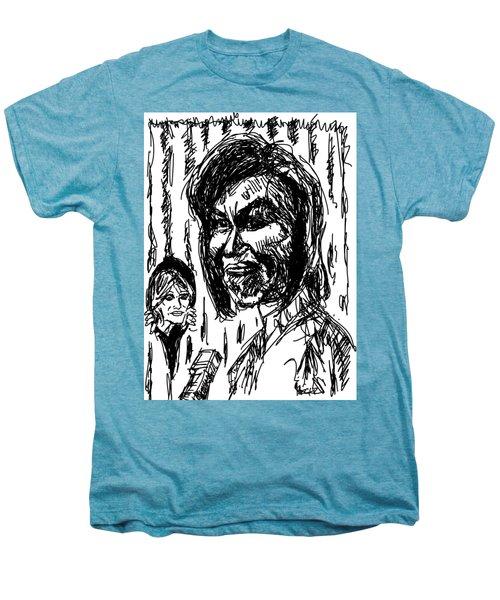 Backstage In 08 Men's Premium T-Shirt by Robert Yaeger