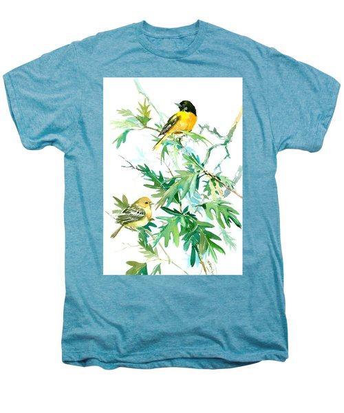 Baltimore Orioles And Oak Tree Men's Premium T-Shirt by Suren Nersisyan