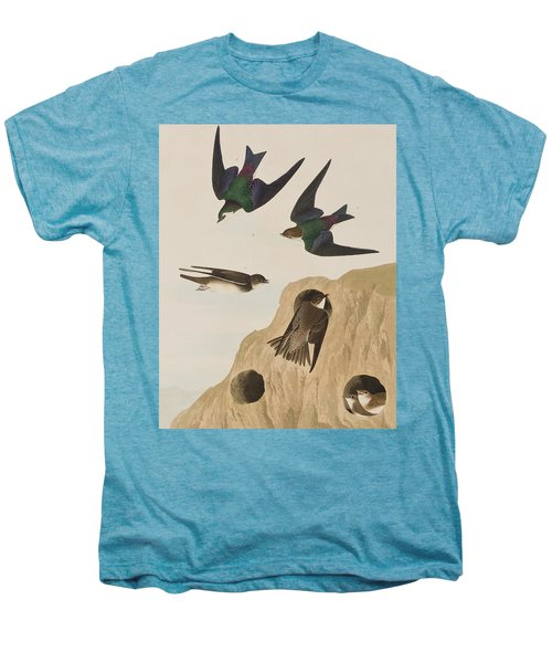 Bank Swallows Men's Premium T-Shirt by John James Audubon