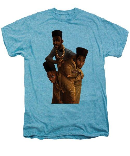 Bdk White Bg Men's Premium T-Shirt by Nelson Dedos Garcia