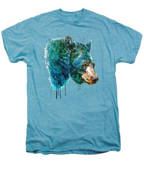 Bear Head Men's Premium T-Shirt by Marian Voicu