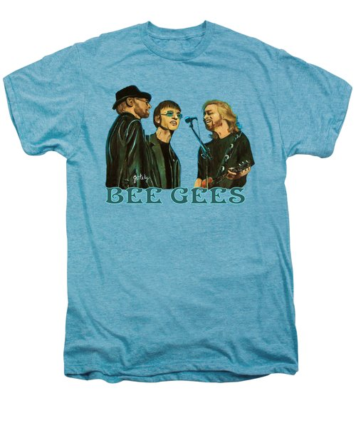 Bee Gees Men's Premium T-Shirt by Paintings by Gretzky