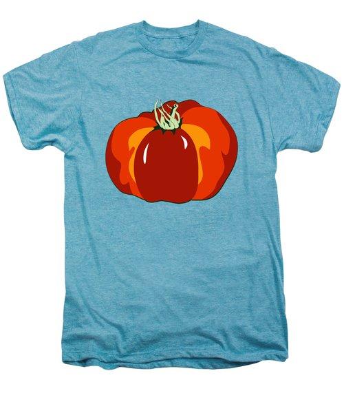 Beefsteak Tomato Men's Premium T-Shirt by MM Anderson