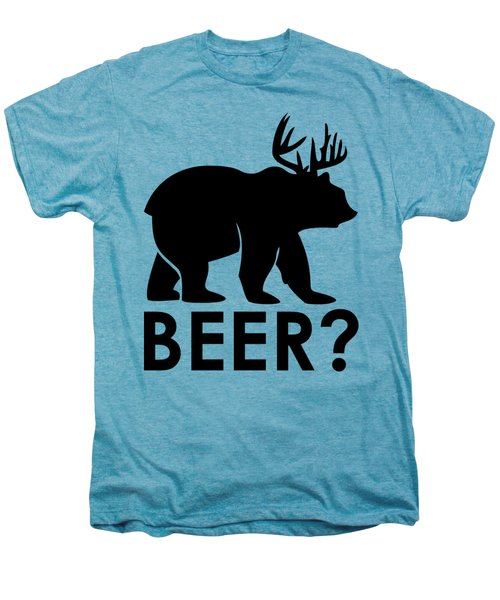 Beer? Men's Premium T-Shirt by Frederick Holiday