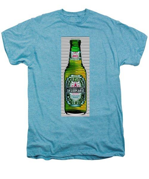 Beer Ripples Men's Premium T-Shirt by David Balber
