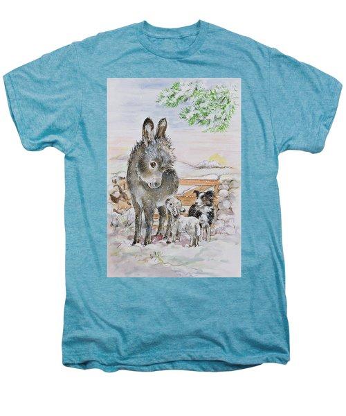 Best Friends Men's Premium T-Shirt by Diane Matthes