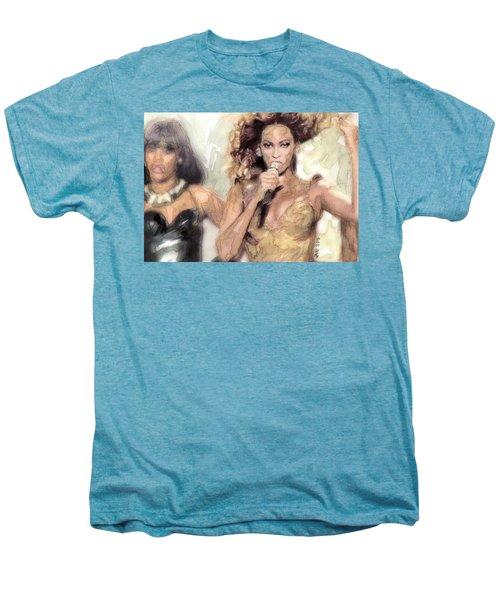 Beyonce 9 Men's Premium T-Shirt by Jani Heinonen