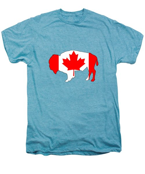 Bison Canada Men's Premium T-Shirt by Mordax Furittus