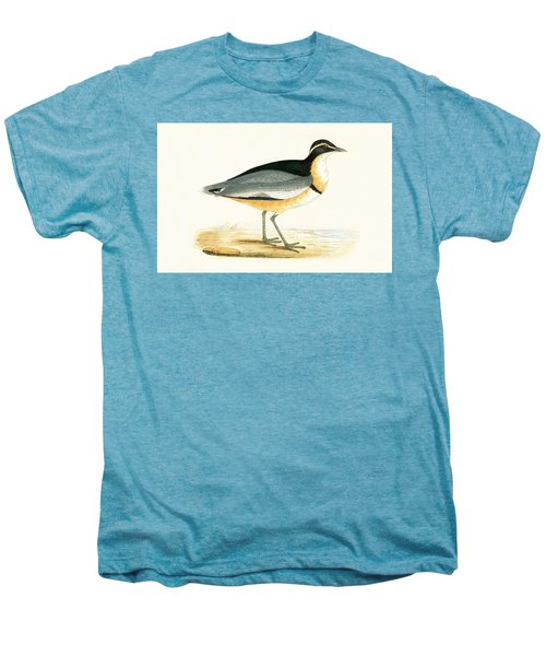 Black Headed Plover Men's Premium T-Shirt by English School