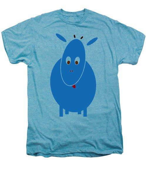 Blue Bestia Men's Premium T-Shirt by Frank Tschakert