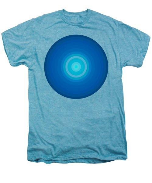 Blue Circles Men's Premium T-Shirt by Frank Tschakert