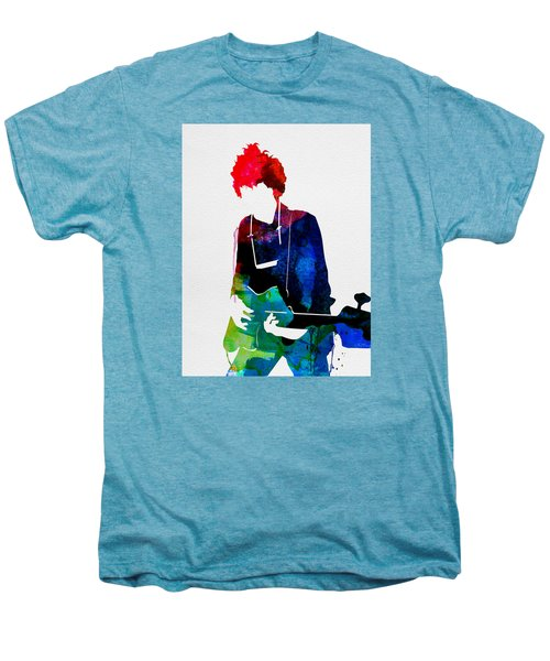 Bob Watercolor Men's Premium T-Shirt by Naxart Studio
