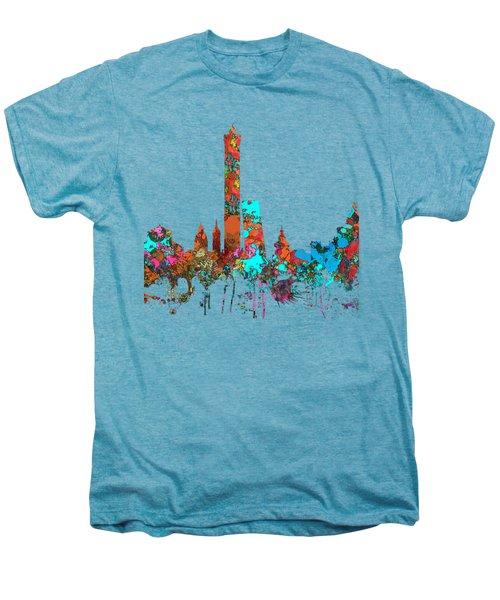 Bologna Italy  Skyline  Men's Premium T-Shirt by Marlene Watson