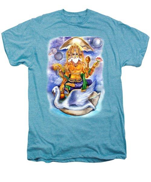 Brahma Men's Premium T-Shirt by Alona Miroshnichenko