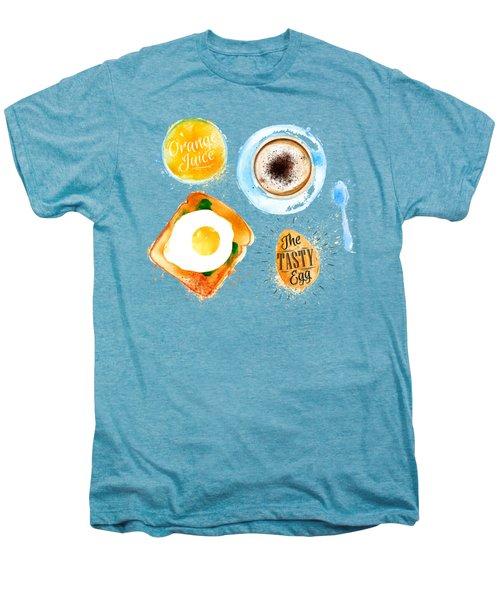 Breakfast 02 Men's Premium T-Shirt by Aloke Design