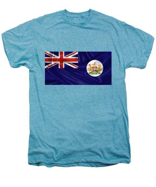 British Hong Kong Flag Men's Premium T-Shirt by Serge Averbukh