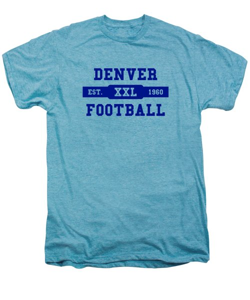 Broncos Retro Shirt Men's Premium T-Shirt by Joe Hamilton