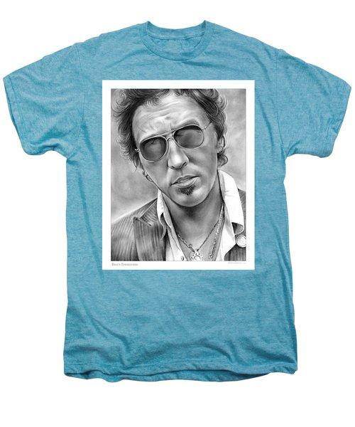Bruce Springsteen Men's Premium T-Shirt by Greg Joens