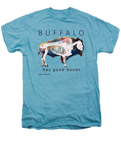 Buffalo Has Good Bones Men's Premium T-Shirt by Marybeth Cunningham