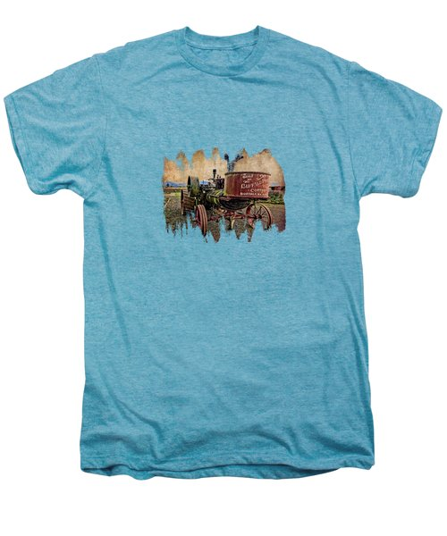 Buffalo Pitts Men's Premium T-Shirt by Thom Zehrfeld