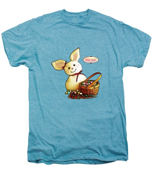 Bunny N Eggs Card Men's Premium T-Shirt by Methune Hively