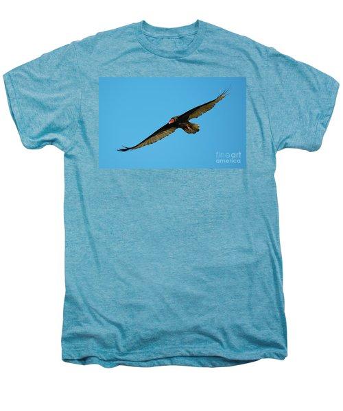 Buzzard Circling Men's Premium T-Shirt by Mike Dawson
